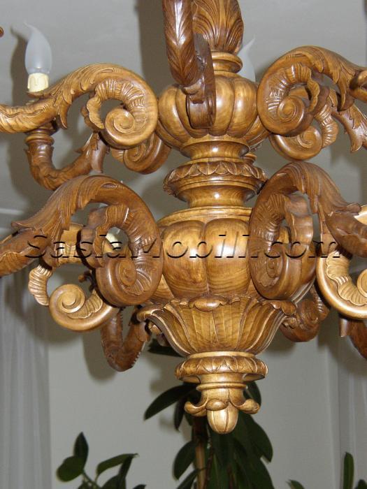 lampadari in legno : Lampadari in Legno